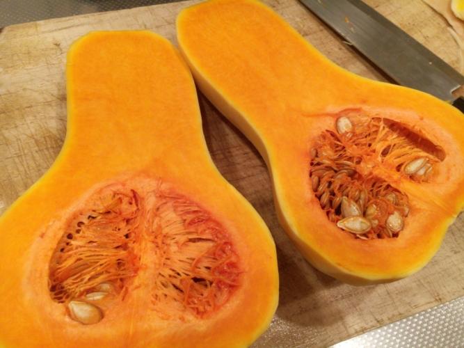 バターナッツかぼちゃの焼きプリン。秋のおやつに、デザートに