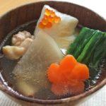 正月の定番!お雑煮。昆布とかつお節で出汁をとる関東風。【農家のレシピ帳】