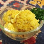 カリフラワーとゆで卵のサラダ。カレー粉とマヨネーズが相性抜群♪【農家のレシピ帳】
