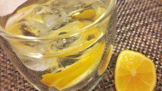 爽やかレモンウォーター♡採れたてレモンをつかって【農家のレシピ帳】