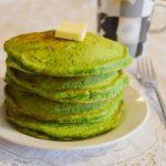 ほうれん草のホットケーキ。鮮やかなグリーン!朝食、おやつに。【農家のレシピ帳】