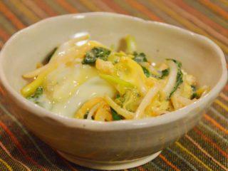 定番!三つ葉の卵とじ。香りの良い、春の副菜。【農家のレシピ帳】