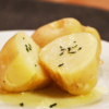 じゃがバター。レンジで簡単!採れたての新ジャガイモで【農家のレシピ帳】