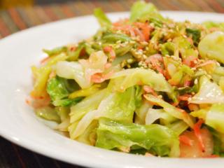 中華風!キャベツと桜えびの塩炒め。肉なしで簡単&節約おかず!【農家のレシピ帳】