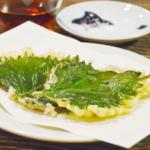 青じその天ぷら。夏らしい爽やかな香りを味わって♪【農家のレシピ帳】