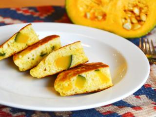 かぼちゃのホットケーキ。ほっこり甘い野菜のおやつ!【農家のレシピ帳】
