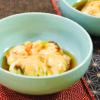えびと枝豆の茶巾蒸し。レンジで簡単!和食のおもてなしに。【農家のレシピ帳】