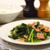 簡単!かぶの葉とベーコンのバターソテー。かぶの葉をおいしく食べる♪【農家のレシピ帳】