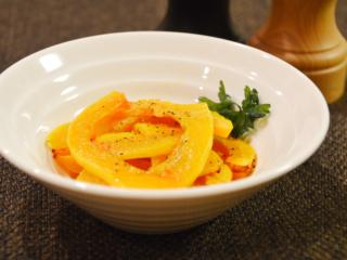 バターナッツかぼちゃのロースト。甘い!オーブンで焼くだけ簡単♪【農家のレシピ帳】