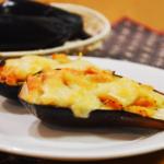 とろける!ナスの味噌チーズ焼き。トースターで簡単おつまみ♪【農家のレシピ帳】