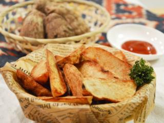 フライド里芋。ポテトに負けないおいしさ♡【農家のレシピ帳】