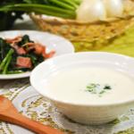甘い!かぶのポタージュ。おもてなしにぴったりな洋風スープ。【農家のレシピ帳】