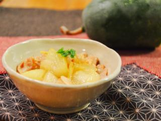 冬瓜と豚バラの煮物♪とろけるおいしさ!【農家のレシピ帳】