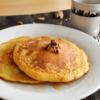 カフェ風!にんじんとくるみのホットケーキ。朝食に、おやつに♪【農家のレシピ帳】