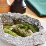 アスパラとチーズのホイル焼き。フライパンで簡単♪【農家のレシピ帳】