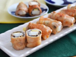 長いも海苔チーズ肉巻き。お弁当のおかずやおつまみにも!【農家のレシピ帳】