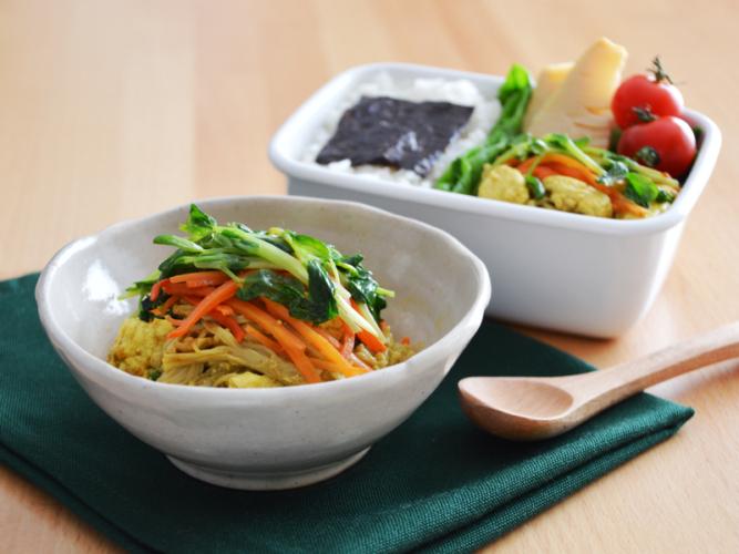 Nadia様「お弁当レシピ大特集」にて掲載中!野菜たっぷりの作り置き&節約レシピ。