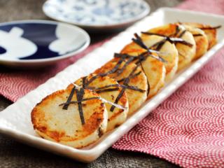 長いものバター醤油焼き。フライパンで焼くだけ簡単!おつまみに♪【農家のレシピ帳】