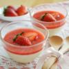 いちごのブラマンジェ♡上品な甘さのいちごスイーツ。【農家のレシピ帳】