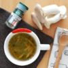バジル香るエリンギのコンソメスープ。忙しい朝に♪【農家のレシピ帳】(PR)
