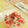 トマトそうめんのカッペリーニ風。夏の冷製パスタ!ランチに♪【農家のレシピ帳】