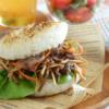 きんぴらライスバーガー。牛肉とごぼうのきんぴらをアレンジ♪【農家のレシピ帳】