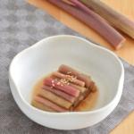 ズイキのごまポン酢和え。箸休めにぴったりな旬の副菜。【農家のレシピ帳】