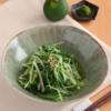 水菜のゆずこしょう和え。レンジで簡単!和風の副菜。【農家のレシピ帳】