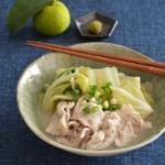 とろける!白菜と豚肉のゆずこしょう煮。ほっこり和風おかず。【農家のレシピ帳】