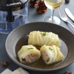<レシピ開発>ロール白菜のコンソメ煮込み。味しみしみの洋風おかず!【農家のレシピ帳】(PR)