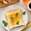 温活!ジンジャーはちみつトースト。ジンジャーシロップの生姜で。【農家のレシピ帳】