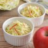 キャベツとりんごのコールスロー。レモン汁入りで爽やかなサラダ♪【農家のレシピ帳】