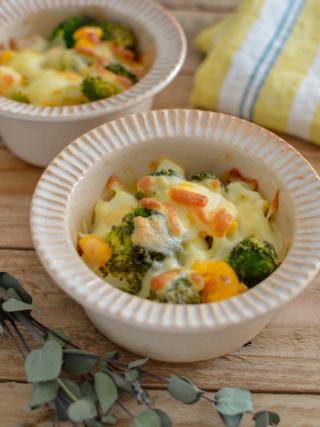 簡単!ブロッコリーとゆで卵のチーズ焼き。お弁当のおかずにも。【農家のレシピ帳】